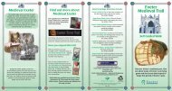Medieval Trail Leaflet - Exeter City Council