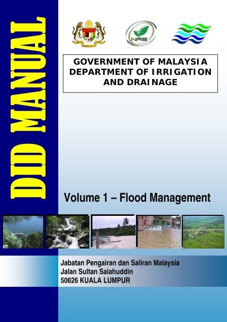 Volume 1 – Flood Management Malaysia Geoportal