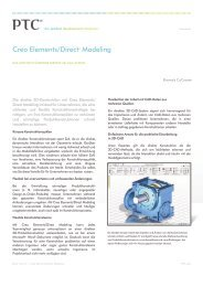 Creo Elements/Direct® Modeling - COP Informatik AG