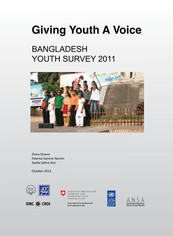 Giving Youth A Voice - Bangladesh Online Research Network