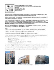 You are cordially invited to attend the ARLIS NA/MOQ Spring ...