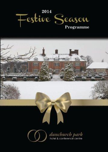 Dunchurch Christmas Brochure 2014
