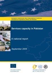 Pakistan services capacity report (September 2005) - TRTA i
