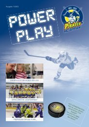 november 2012 - HC Eppan Pirates
