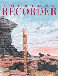 s e p t e m b e r 2 0 0 5 - American Recorder Society