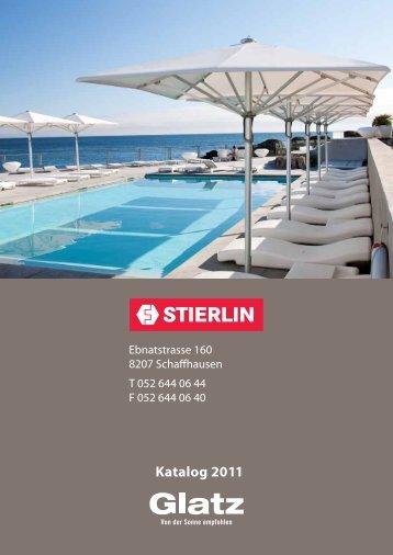 Katalog 2011 - Stierlin.ch