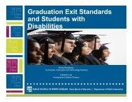 Graduation Requirements-NCDCDT - Mathematics