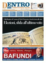 Dentro Magazine - La Voce del Nord Est Romano