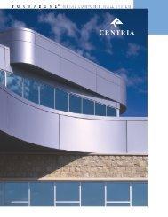 7. centria's formabond (acm) wall panel brochure