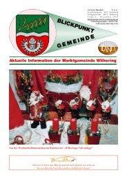Gemeindezeitung 4 / 2006 (0 bytes) - Gemeinde Wilhering