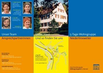 5-Tage-Wohngruppe Niederlinxweiler Unser Haus Und so finden ...