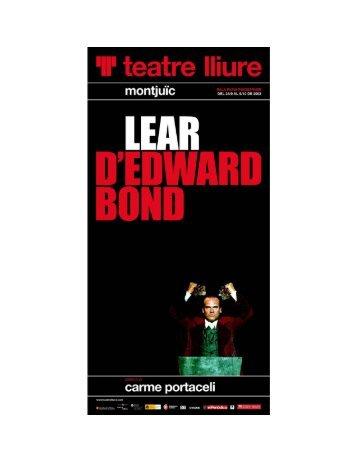 Dossier Premsa (PDF) - teatre lliure