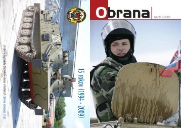 apríl 2009 - Ministerstvo obrany SR