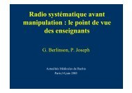 Recommandations classiques en Médecine Manuelle - sofmmoo
