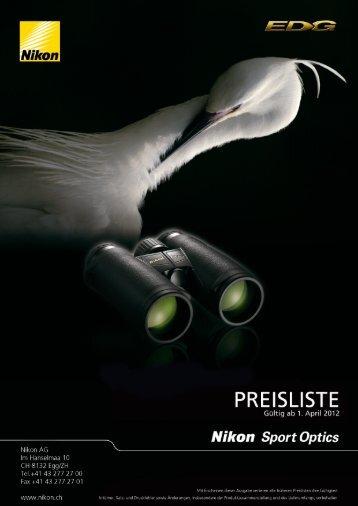 Preisliste komplett - My Nikon