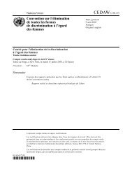 Convention sur l'élimination de toutes les formes de discrimination à ...