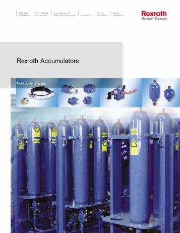 Rexroth Accumulators - Hasmak.com.tr