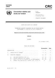Convention relative aux droits de l'enfant