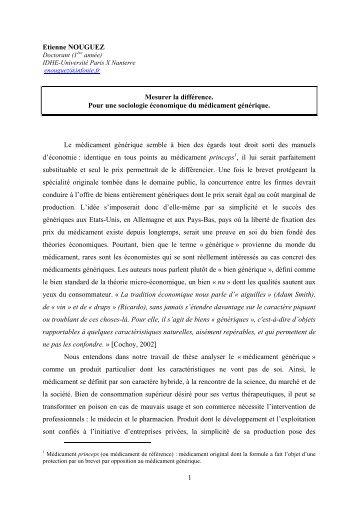 Texte d'Etienne Nouguez - Melissa - ENS Cachan