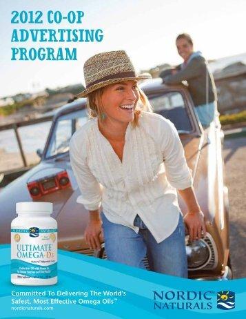2012 co-op advertising Program - Nordic Naturals