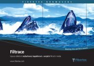 Filtrace - Fibertex AS