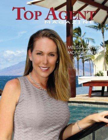 MELISSA ZUPNER MONTGOMERY - Top Agent Magazine