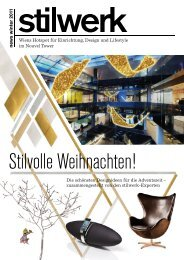 news winter 2011 - bei Stilwerk