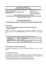 2. Änderungsbeschluss - DLR Eifel