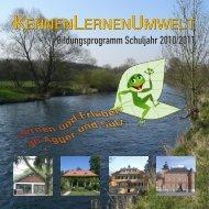Programmheft 2010/2011 - KennenLernenUmwelt