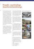 Nachhaltige Quartierentwicklung Vier Pilotprojekte - Seite 6