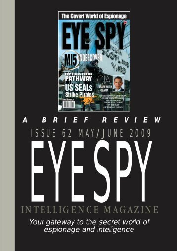 contents 59 - Eye Spy Intelligence Magazine