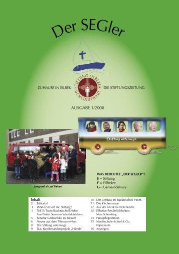 Seitenweise - Stiftung Eilbeker Gemeindehaus
