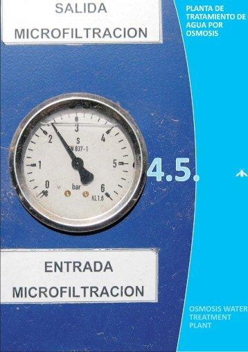 09. Planta de tratamiento de agua por osmosis - Proexport