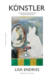 lisa endriss - Zeit Kunstverlag
