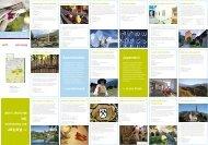 Kultur-Karte mit Lageplan (PDF - 1,38 MB) - Meraner Land