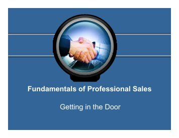 Generating Sales Leads - Greater Paterson Chamber of Commerce