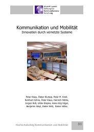 COMeSafety - Alcatel-Lucent Stiftung für Kommunikationsforschung