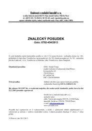 ZNALECKÝ POSUDEK číslo: 6782-454/2013 - e-aukce