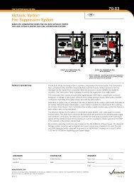 Victaulic VortextM Fire suppression system 70.03