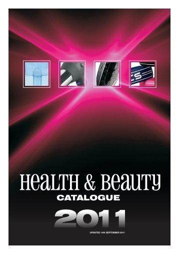 health and beauty catalogue 2011 - appliances electronics seasonal