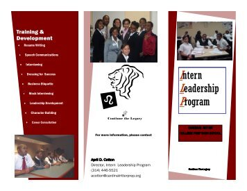 Download Brochure - Cardinal Ritter College Preparatory High School