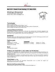 Mini U13 - Runde 5 vom Sonntag, 17. März 2013 Würenlingen ...
