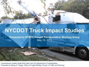 Truck Impact Study - New York Metropolitan Transportation Council