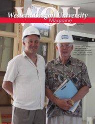 Fall 2010 magazine - Western Oregon University