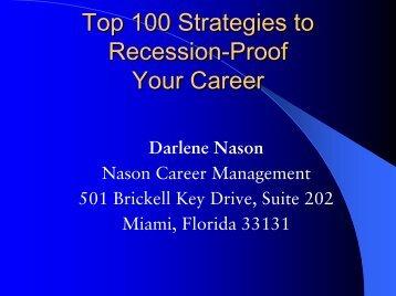 How to recession pro.. - Nason Search