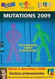 Spécial mutations Inter 2009 - snuep