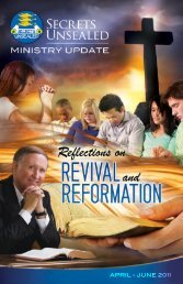 Reflections on Revival and Reformation, Part 1 of 3 - Secrets ...