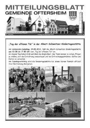 MITTEILUNGSBLATT - Nussbaum Medien