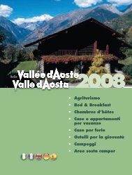 Italia • Agriturismo • Bed & Breakfast • Chambres d ... - Aostatal.com