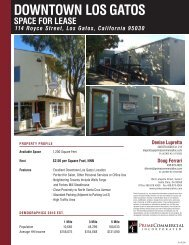 DOWNTOWN LOS GATOS - Prime Commercial, Inc